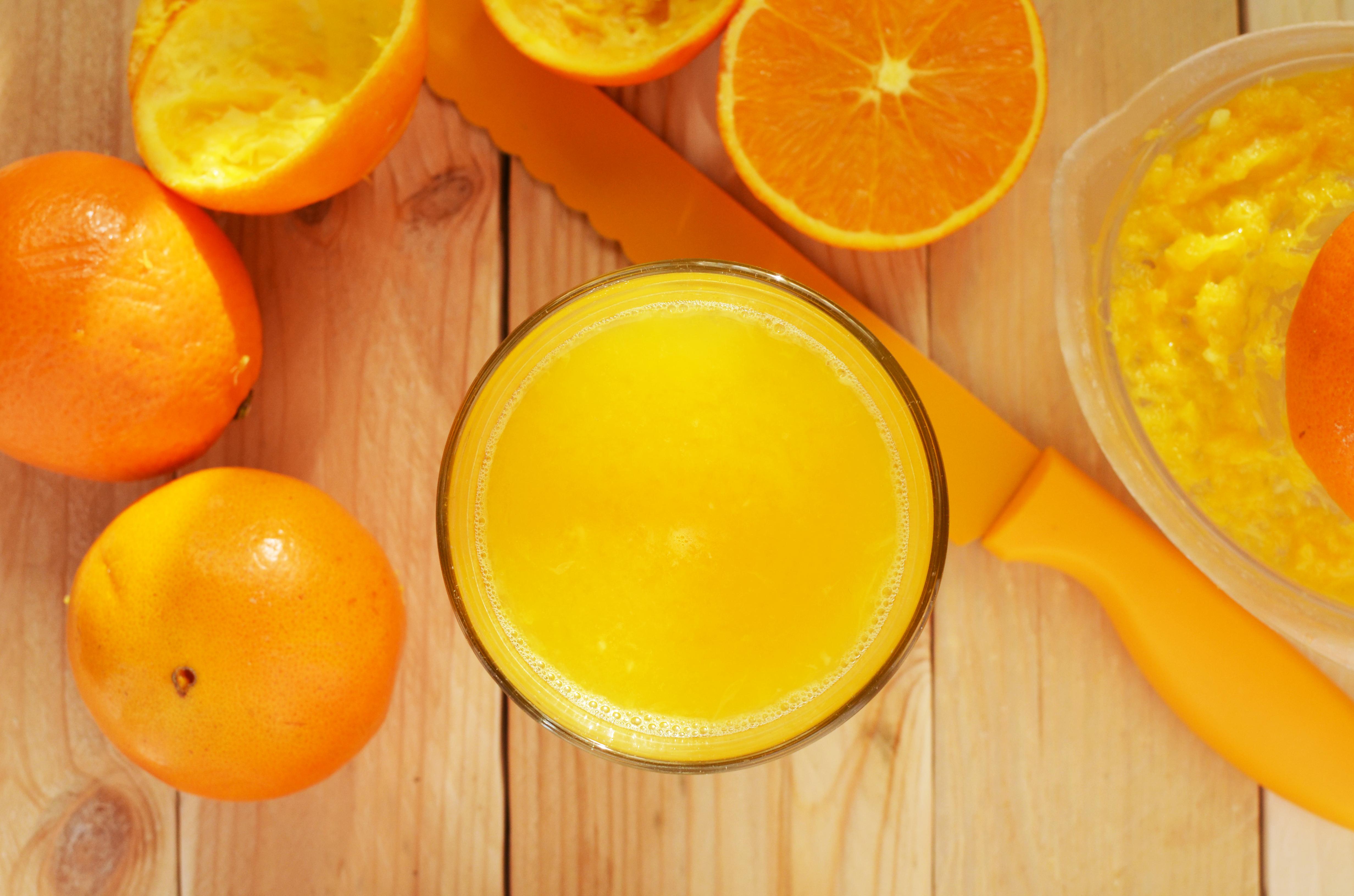 laranja para saúde dos cabelos